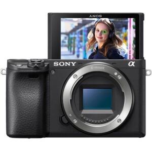 cận cảnh Máy ảnh Sony Alpha A6400