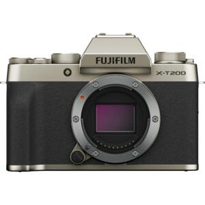 Cận cảnh Fujifilm X-T200 (Champagne Gold)