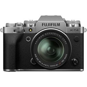 Máy ảnh Fujifilm X-T4 với ống kính XF 18-55mm (Silver)
