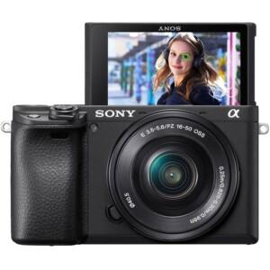 Sony Alpha A6400 + ống kính 16-50mm Chính Hãng
