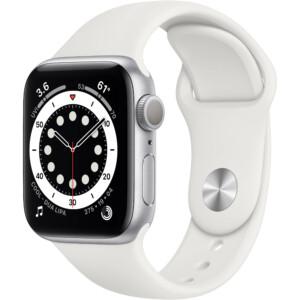 Apple Watch Series 6 40mm (Silver) chính hãng, giá rẻ, trả góp 0% cùng nhiều ưu đãi hấp dẫn từ WinWinStore. Đặt online hoặc mua tại cửa hàng.