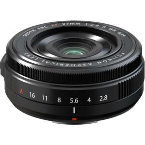 Cận cảnh ống kính Fujifilm XF 27mm