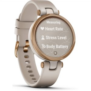 Cận cảnh đồng hồ Garmin Lily (Sport Edition, Rose Gold & Light Sand) chính hãng, giá tốt cùng nhiều ưu đãi hấp dẫn tại WinWinStore.